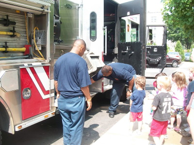 A Visit from the Local Fire Station