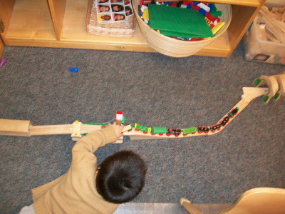 Constructing with Trains