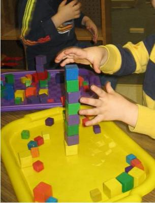 Building with Small Blocks